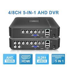 Security MINI AHD DVR NVR 5-IN-1 Hybrid P2P Phone View Video Recorder 4CH 8CH