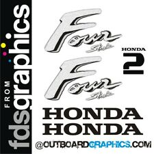 Honda 2hp 4 stroke outboard engine decals/sticker kit