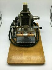 Vintage Kingsley Stamping Machine W/Accessories. Good Condition.