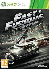 Fast & Furious: Showdown (Microsoft Xbox 360, 2013)