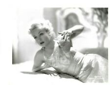 LOVELY CAROLE LOMBARD STYLISH SEXY POSE 1930s Orig VINTAGE PARAMOUNT Photo  233