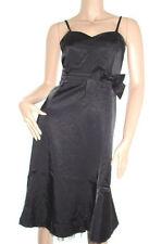 Knee Length Cotton Patternless Ballgowns for Women