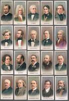 1914 Wills's Musical Celebrities 2nd Series Tobacco Cards Complete Set of 50