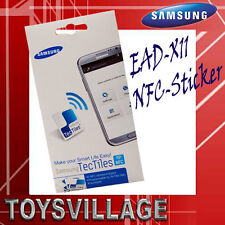 Samsung Original  5x NFC-Sticker EAD-X11SWEGSTD Tec Tiles,alle Smartphones m.NFC