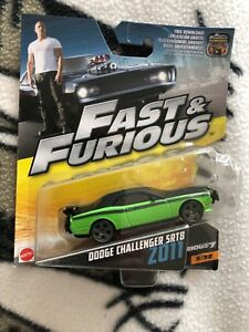 Fast and the Furious Dodge Challenger 2011 die cast model car
