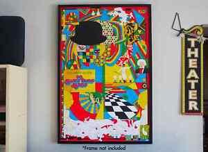 Mondo A Clockwork Orange Variant Poster by MURUGIAH (New) Kubrick