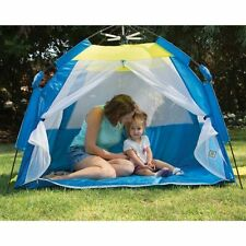 Pacific Play Tents ONE TOUCH CABANA TENT Blue/Yellow (Kid's Play Tent) NEW