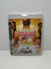 Saints Row 2 1st Print (PlayStation 3 PS3 2008) FACTORY SEALED! - RARE!