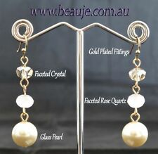 Glass Mixed Themes Fashion Earrings