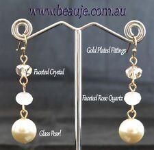 Crystal Glass Fashion Earrings