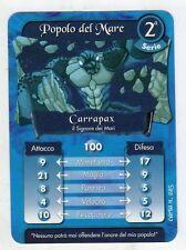 figurina - CARD GORMITI - SERIE 2 CARRAPAX