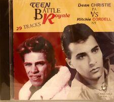 TEEN BATTLE ROYALE - Dean Christie VS Ritchie Cordell - 29 Tracks