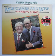 MORECAMBE & WISE - The BBC TV Shows - Excellent Condition LP Record BBC REC 534
