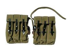 Reproduction WW2 German Tan canvas MP44 pouches