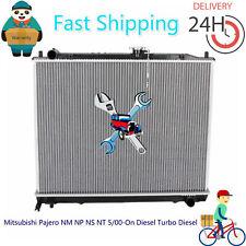 Radiator For Mitsubishi Pajero NM NP NS NT 5/00-On Diesel Turbo Diesel Auto/Man