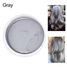 DIY Hair 9 Colors Silver Ash Grey Unisex Temporary Modeling Cream Wax Mud Dye
