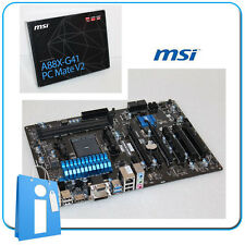 Motherboard ATX A88X MSI A88X-G41 PC Matt V2 Socket FM2 with Accessories