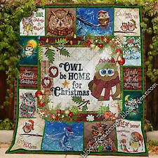 Christmas Owl Quilt