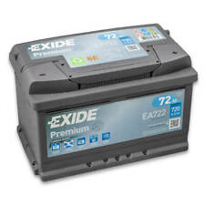 Exide Premium Carbon Boost EA722 72Ah Autobatterie