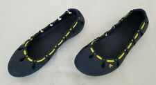 Womens Size W6 Blue Crocs Slip On Flat Shoes preowned