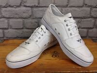 CREATIVE RECTREATION MENS UK 9 EU 43 WHITE CESARIO TRAINERS RRP £60