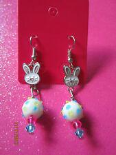 Bunny Rabbit Dangle Earrings
