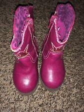 Toddler 5c Maggie&Zoe Pink Star Cowboy Boots