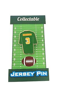 San Francisco 49ers Joe Montana Notre Dame jersey lapel pin-Classic Retro styled