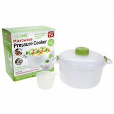 NEW MICRO MASTER MICROWAVE PRESSURE COOKER 2.85L STEWS SOUPS RICE IN MINUTES
