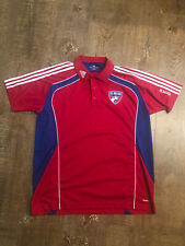 Adidas FC Dallas Polo Shirt Size Large Red