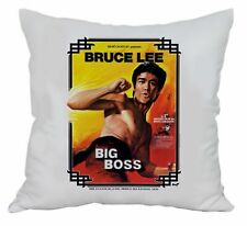 Coussin Bruce Lee - Big Boss Poster