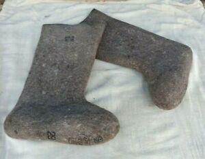 Russian Original Valenki Felt Boots 100% Wool Winter Walenki UGG Mukluks USSR