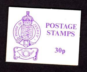 Jersey #SB28A (1976 30p violet stamp sachet) VFMNH not valued