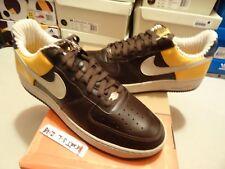 "NEW 2006 Nike Air Force 1 ONE Premium ""RENS"" BRQE Brown Gold 313641 222 SZ 13"