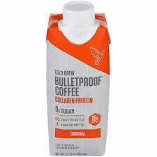 Bulletproof Cold Brew Original Collagen Protein Coffee 11 oz ( Pack of 12 )