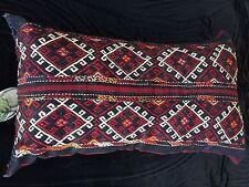 Rug Carpet Pillow Tent Bag Jowal Chuval Wool Kazak Nomad Tribal Woven Large R135