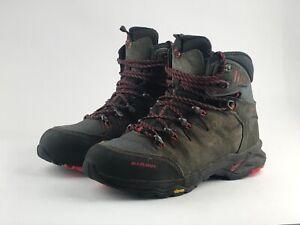 Mammut T Advanced GTX Hiking Walking Boots Black / Red / Grey / Khaki