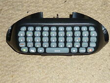 MICROSOFT XBOX 360 LIVE CHATPAD in Black CLIPON CONTROLLER KEYBOARD KEY CHAT PAD