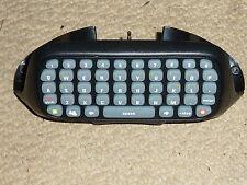 MICROSOFT XBOX 360 LIVE CHATPAD in Black CLIPON CONTROLLER KEYBOARD KEY CHAT PAD