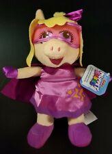 New Super Fabulous Miss Piggy Muppet Babies Plush Disney Junior Stuffed Animal