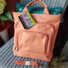 BEYOND A BAG ~ 2 bags in 1 ~ E-reader bag ~ canteloupe/melon color ~ NWT!