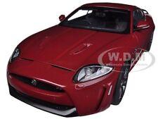 JAGUAR XKR-S ITALIAN RACING RED 1/18 DIECAST MODEL CAR BY AUTOART 73642
