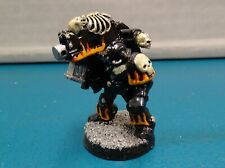 Legion of the Damned Space Marine w/ Heavy Bolter METAL Warhammer 40k Painted