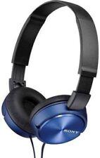 Écouteurs pliables bleus Sony