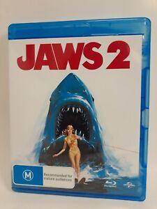 JAWS 2  rare Universal AU Blu-ray monster shark horror