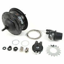 NuVinci N330 CVP Internal Gear Bicycle Rear Hub Black 36h Rim Brake // New C3