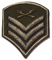 Sergeant Chevrons Iron on Patch New Sew on Patch 2 x US Army 101st Airborne