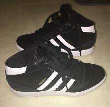 check out ea380 49a21 Adidas Busenitz Men Shoes Size 7, Black Leather, Hightop Shoes