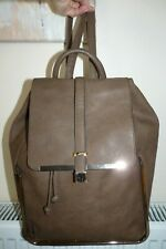 Bessie Large  Taupe / Golden Hardware Backpack