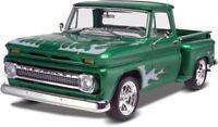 Model Car Truck Kit New 1965 Chevy Stepside Pickup Detailed Plastic Scale 1/25